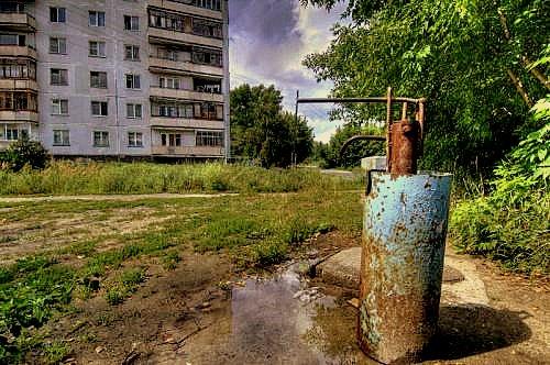 Колонка на ул. Труженников