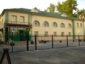 Новое здание Сберкассы на Шлюзе