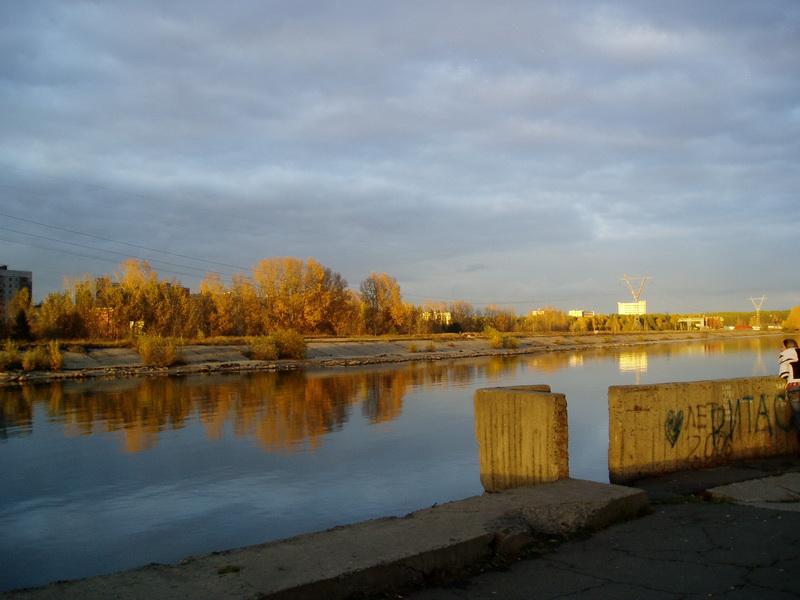 Осень на Шлюзе