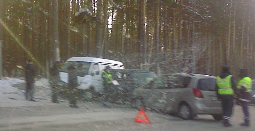 Авария №2 на Северном проезде, 31.01.2011