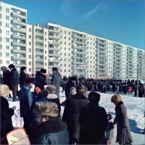 Масленница на Русской, 80-е годы 20-го века