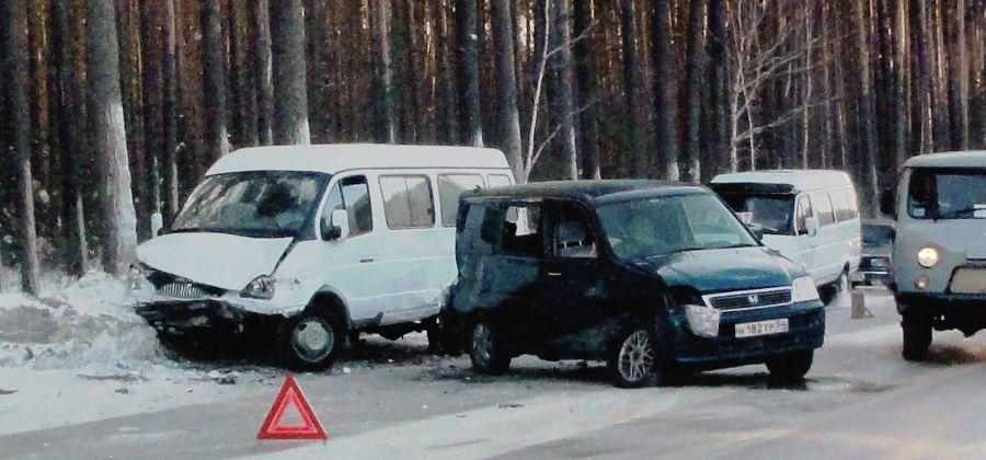 Авария №1 на Северном проезде, 31.01.2011