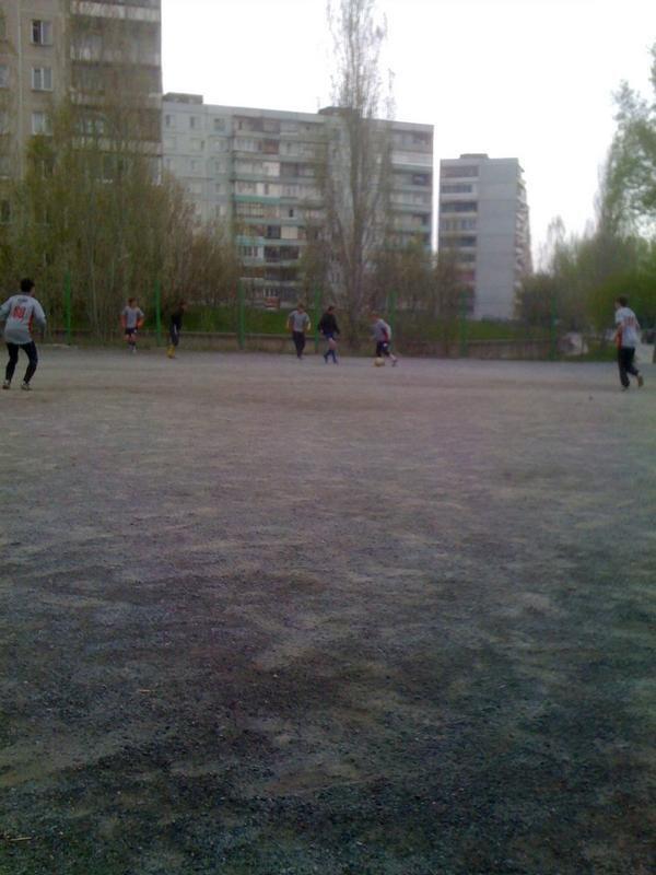 Футбол на Шлюзе
