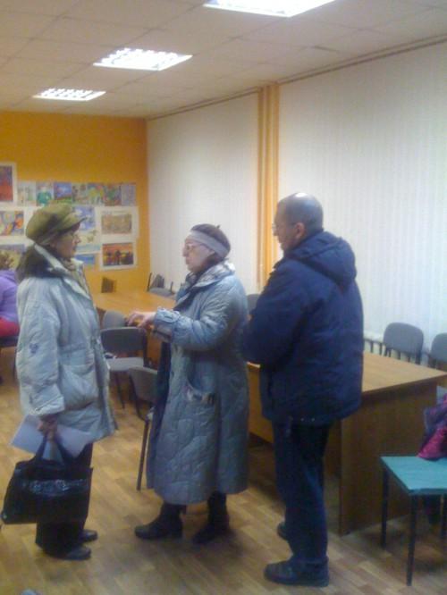 Надежда Кантер и жители Русской, 9