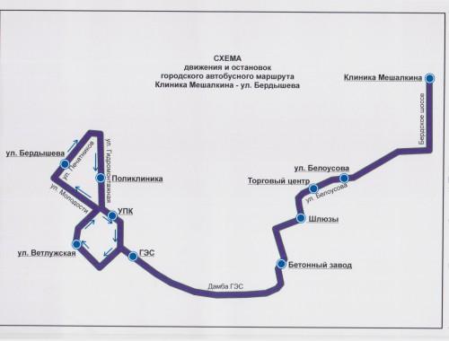 Клиника Мешалкина-ул.Бердышева-Клиника Мешалкина