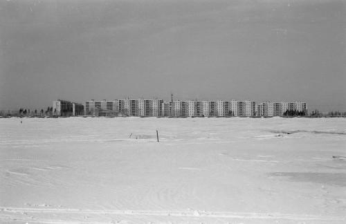 Вид на ул.Русская со стороны аван-порта. Март 1978 года.