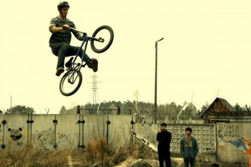 BMX на Шлюзе. Фото А.Михайловой