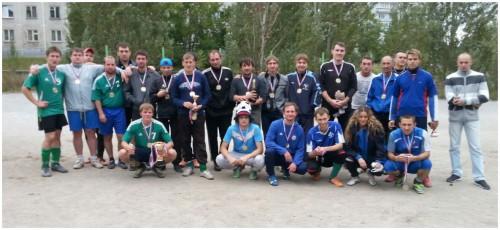Участники IV Открытого чемпионата Шлюза