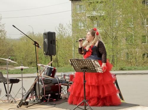 Вела концерт Эльвира Эрфурт