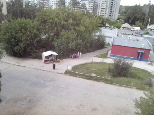 "Торговля у ""Сибириады"" на Шлюзовой"