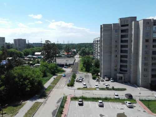 Ремонт дороги на ул.Сиреневая
