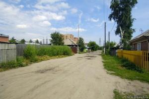 Улица Белоусова на Шлюзе