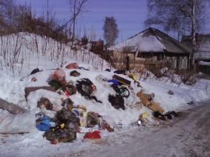 Свалка на ул.Золоторожская