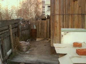 Общественный туалет на Шлюзе