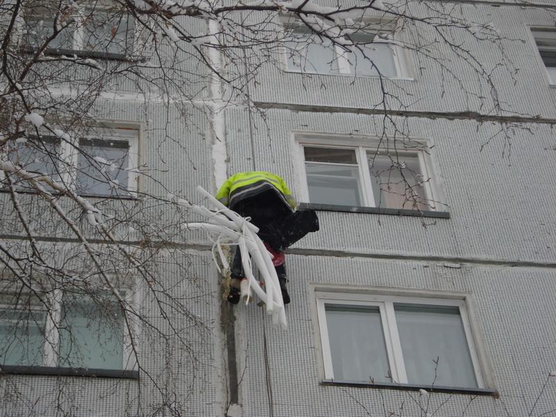 Ремонт швов на Русской, 25